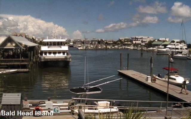 Bald Head Island Ferry Camera